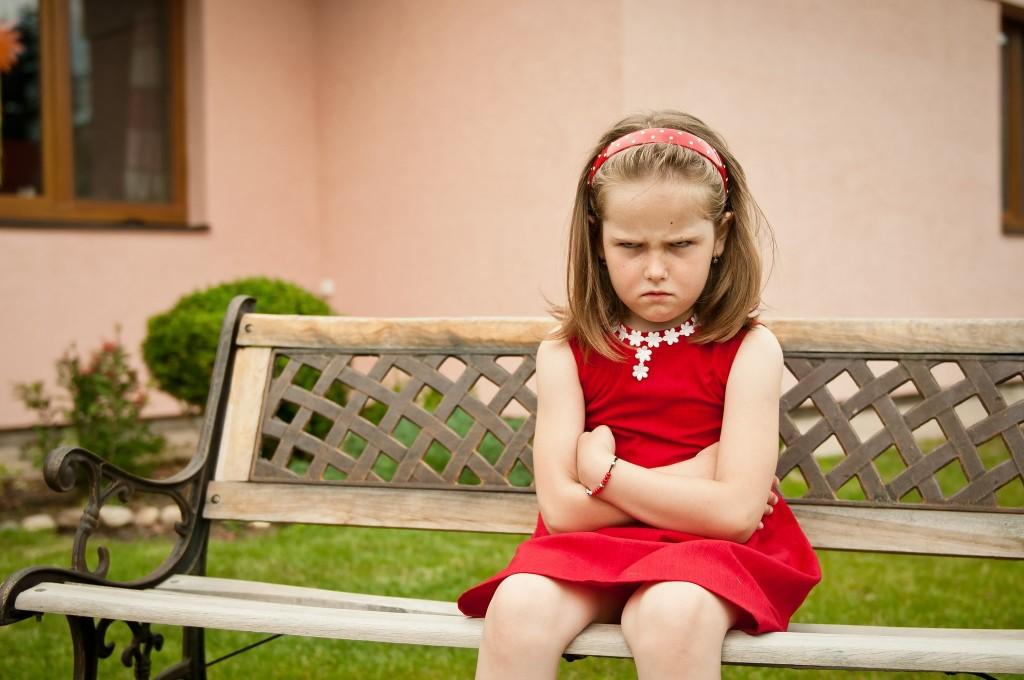 upset kid